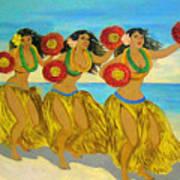 Moloka'i Hula Art Print