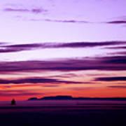 Moments Before Sunrise Art Print