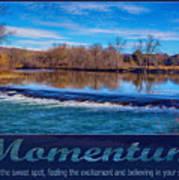 Momentum By Omashte Art Print