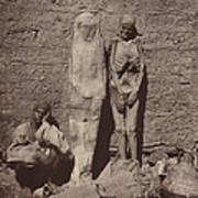 Momies Egyptiennes (egyptian Mummies) Art Print
