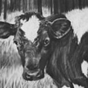 Momma Cow Art Print