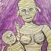 Mommyfied  Art Print