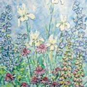 Moms Garden Art Print