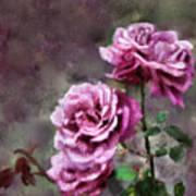 Moms Roses Art Print