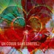 Mon Coeur - My Heart Art Print