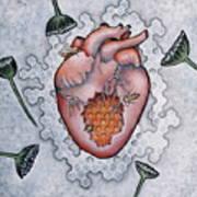 Mon Coeur- Where The Honeybees Live Art Print