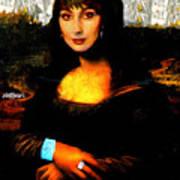 Mona Cher Art Print