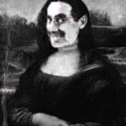 Mona Grouchironi Art Print
