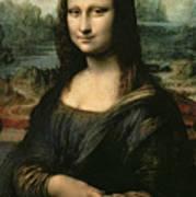 Mona Lisa Art Print by Leonardo da Vinci