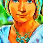 Mona Lisa Young - Da Art Print