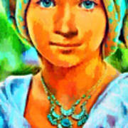 Mona Lisa Young - Pa Art Print