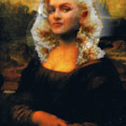 Mona Marilyn Art Print