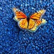 Monarchs Mating Art Print