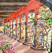 Monasterio Art Print