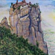 Monastery of Aghia Triada Art Print