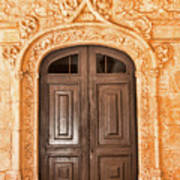 Monastery Of Jeronimos Door Art Print