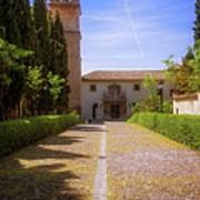 Monastery Of Saint Jerome Approach Art Print