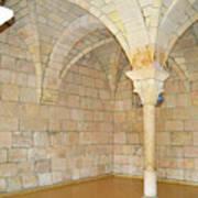 Monastery Of St. Bernard De Clairvaux 3 Art Print