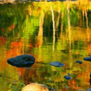 Monet Autumnal Art Print