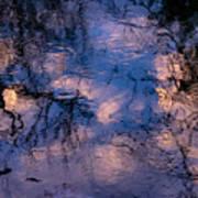 Monet On The Water Art Print