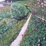 Monet's Garden Path Art Print