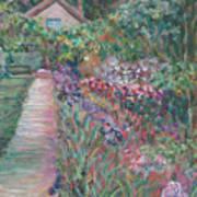 Monet's Gardens Art Print