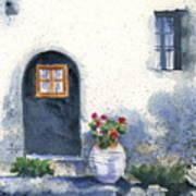 Monevasia Doorway Art Print