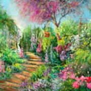 Monica's Garden Art Print
