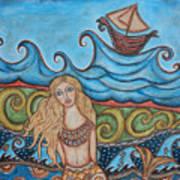 Monique Mermaid Art Print