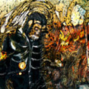 Monkey Demon Art Print