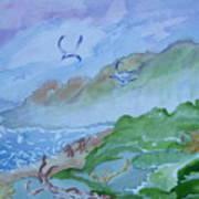 Monkeys Head Point Oregon Art Print