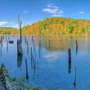 Monksville Reservoir Fall 2016 Art Print