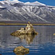 Mono Lake Pano Art Print
