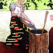 Monobo Chores Art Print
