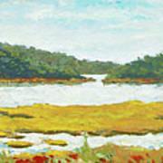 Monomoy River Art Print
