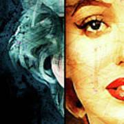 Monroe Panel A Art Print