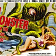 Monster From The Ocean Floor, Anne Art Print by Everett