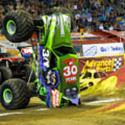 Monster Jam 2 Art Print