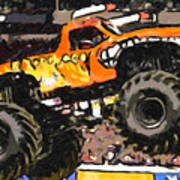 Monster Jam El Toro Loco Art Print