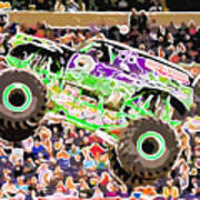 Monster Jam Orlando Fl Art Print