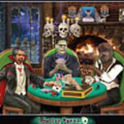 Monster Poker Art Print
