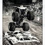 Monster Truck 1b Art Print