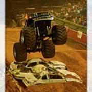 Monster Truck 2a Art Print