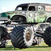 Monster Truck 4 Art Print