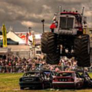 Monster Truck Destruction  Art Print