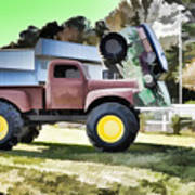 Monster Truck - Grave Digger 2 Art Print