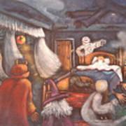 Monsters In My Room Art Print