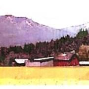 Montana Bound  Art Print