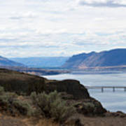Montana Bridge Art Print