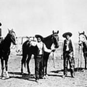 Montana: Cowboys, C1895 Art Print
